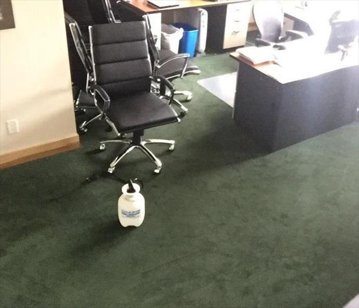 Dirty Carpet in Office