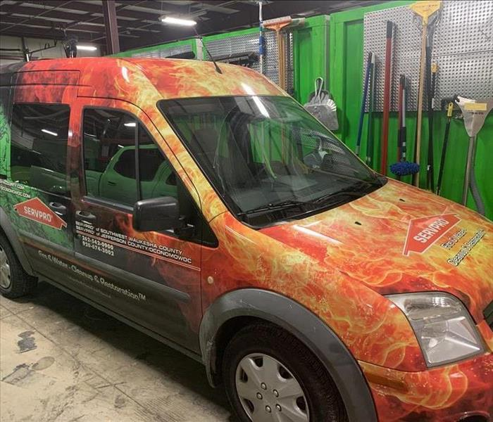 New SERVPRO vehicle