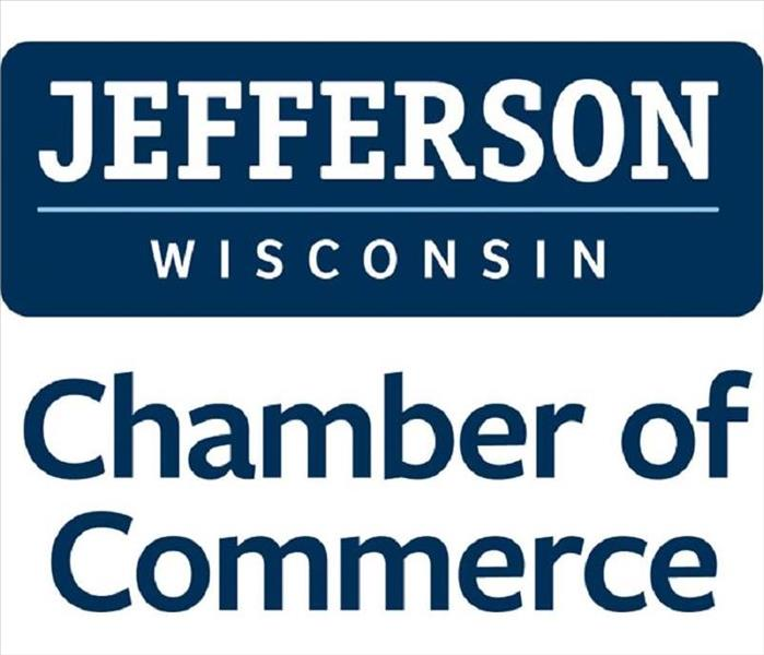Jefferson Chamber of Commerce is written out in blue and white lettering