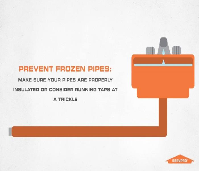 Water Damage Frozen Pipes