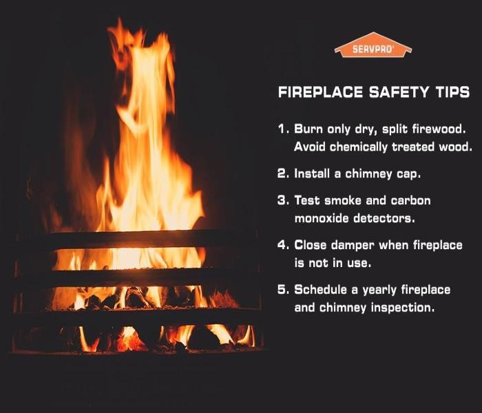 Fireplace Safety Servpro Of Jefferson County Oconomowoc
