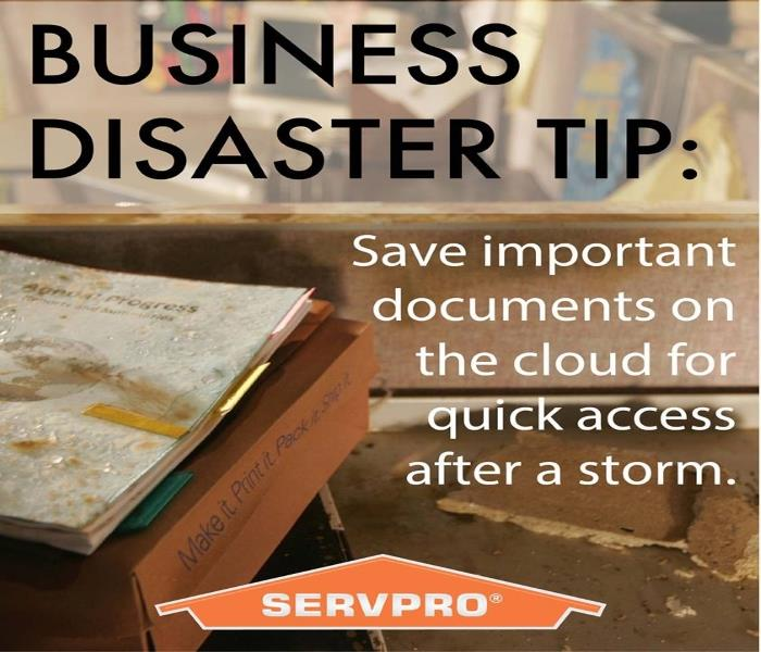 General Business Disaster Tip